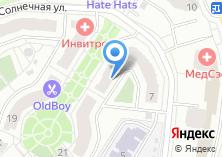 Компания «Строящийся жилой дом по ул. Солнечная (г. Жуковский)» на карте