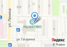 Компания «Музей войск ПВО» на карте