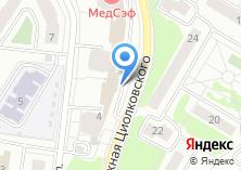 Компания «РП ЖУКОВСКИЙ» на карте