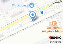 Компания «Автостоянка на ул. Мясищева» на карте