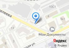 Компания «Торглайн» на карте