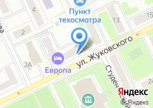 Компания «Единый информационно-расчетный центр» на карте