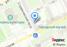 Компания «Медицина Подмосковья» на карте