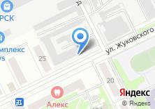 Компания «Жуковская электросеть» на карте