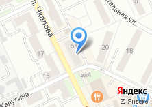 Компания «Фотоателье на ул. Чкалова» на карте