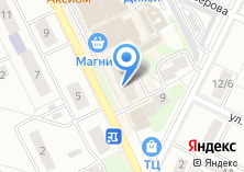 Компания «ИНСАЙДЕР» на карте