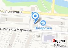 Компания «Магазин товаров для дома и рукоделия на ул. Народного Ополчения» на карте
