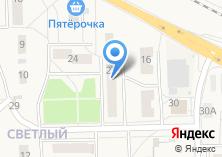 Компания «Почтовое отделение №142461» на карте