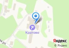 Компания «Кратово» на карте