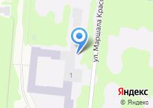 Компания «Военно-воздушная академия им. профессора Н.Е. Жуковского и Ю.А. Гагарина» на карте