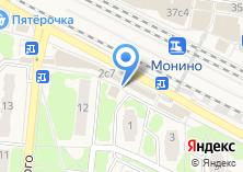 Компания «Монэ» на карте