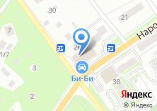 Компания «Электроша» на карте