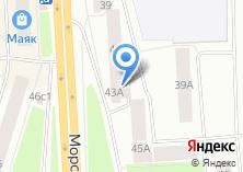 Компания «Красная талка» на карте