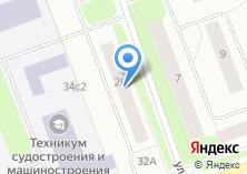 Компания «Почтовое отделение связи №12» на карте