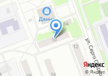 Компания «Милано» на карте