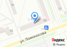 Компания «Магазин овощей и фруктов на ул. Ломоносова» на карте