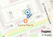 Компания «Santa Pasta» на карте