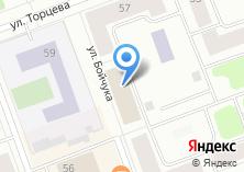 Компания «Участковый пункт полиции Отдел полиции №15 Управление МВД России по г. Северодвинску» на карте