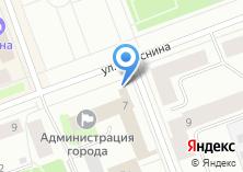 Компания «Финансовое управление Администрации г. Северодвинска» на карте