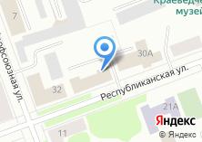 Компания «Региональное Управление ФСБ РФ по Архангельской области» на карте