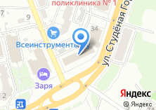 Компания «Служба бытового ремонта ''муж на час''» на карте