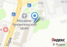 Компания «ИнтерСтройСталь» на карте