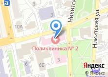 Компания «Городская поликлиника №2 г. Владимира» на карте