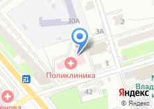 Компания «Поликлиника медико-санитарной части УВД Владимирской области» на карте