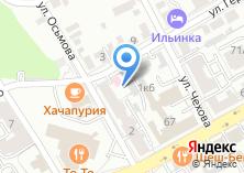 Компания «Детское диспансерное отделение областного противотуберкулезного диспансера» на карте