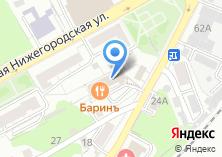 Компания «Артстройка33» на карте