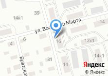 Компания «Почтовое отделение связи №19» на карте
