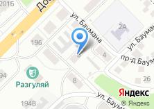 Компания «Отделочка» на карте