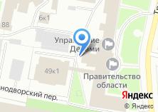 Компания «Правительство Архангельской области» на карте