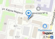 Компания «Сантех-сервис» на карте