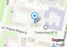 Компания «Поморская государственная филармония» на карте