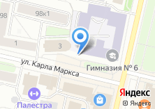 Компания «Гимназия №6» на карте