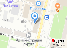 Компания «АрхГруз» на карте