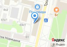 Компания «M4» на карте
