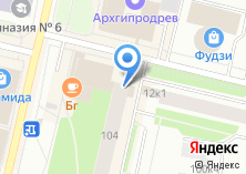 Компания «Bravo» на карте