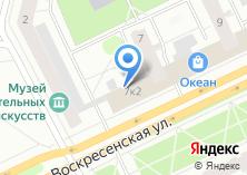 Компания «Парикмахерская на Воскресенской» на карте