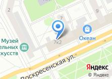 Компания «Банкомат ФондСервисБанк» на карте