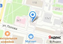 Компания «РГС» на карте
