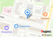 Компания «Учебно-курсовой комбинат жилкомхоза» на карте