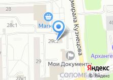 Компания «Продовольственный магазин на Маяковского» на карте