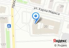 Компания «Архангельский областной суд» на карте