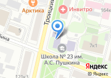 Компания «Средняя общеобразовательная школа №23 им. А.С. Пушкина» на карте