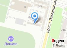 Компания «Азиза» на карте
