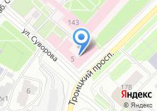 Компания «МеталлПром» на карте