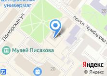 Компания «Дапринт» на карте