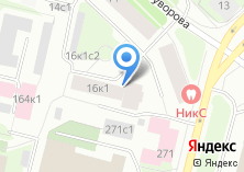 Компания «РН-Карт-Санкт-Петербург» на карте